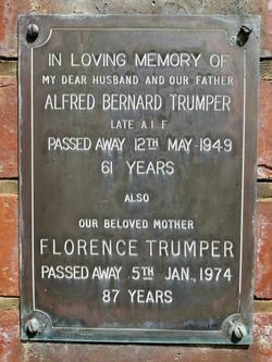 Florence <I>Dunford</I> Trumper