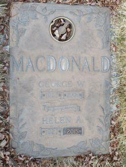 Helen A. <I>Tholen</I> MacDonald