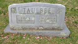 Dr James H Taulbee