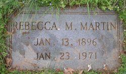 Rebecca <I>Morris</I> Martin