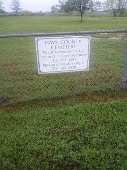 Hays County Cemetery