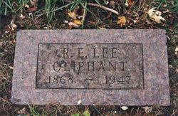 Robert Edward Lee Oliphant