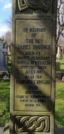 Rev James Roddick