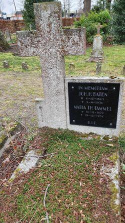 Maria Theodora <I>Tammel</I> Baten