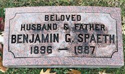 "Benjamin G. ""Ben"" Spaeth"