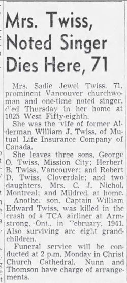 Sadie Jewel <I>Brenton</I> Twiss