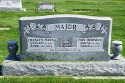 Frances <I>Mann</I> Major