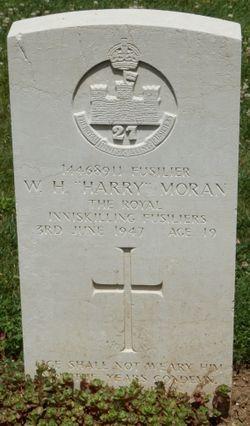 "Fusilier William Henry ""Harry"" Moran"