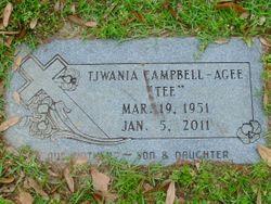 "Tjwania ""Tee"" <I>Campbell</I> Agee"