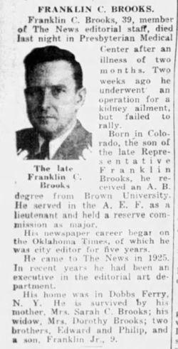 Franklin Coolidge Brooks