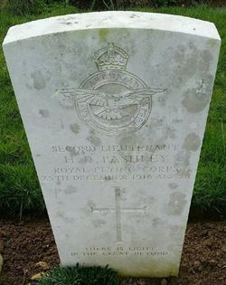2nd Lt Herbert Dudley Pashley