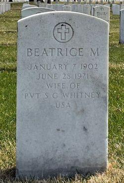 Beatrice M Whitney
