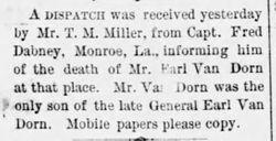 Earl Van Dorn Jr.