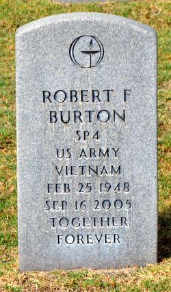 Robert F Burton