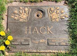 """Matilda """"Tillie"""" <I>Munk</I> Hack"""