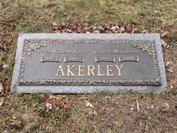 William B Akerley