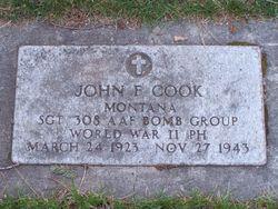 SGT John Floyd Cook