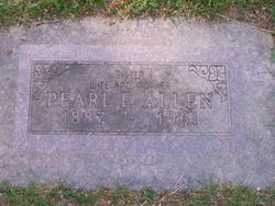 Pearl Etta <I>Pepperell</I> Allen