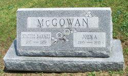 Bertha Stattie <I>Barnes</I> McGowan