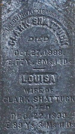 Louisa <I>Sawyer</I> Shattuck