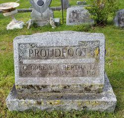 Bertha Louise <I>Chappell</I> Proudfoot