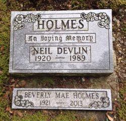 Neil Devlin Holmes