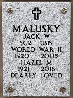 Jack Ward Malusky