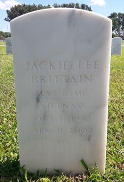 Maj Jackie Lee Brittain