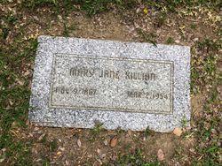 Mary Jane <I>Wilfong</I> Killian