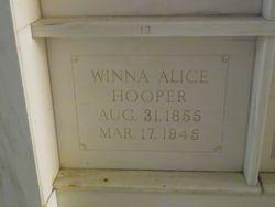 "Winifred Alice ""Winna"" <I>Barton</I> Hooper"