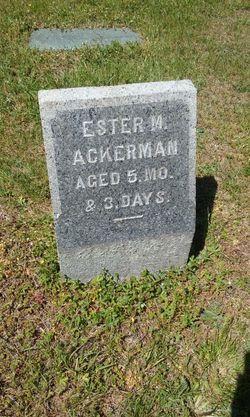 Esther M Ackerman