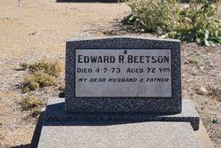 Edward Robert Beetson
