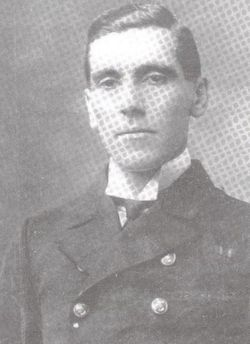 Captain Eric Percy Coventry Back