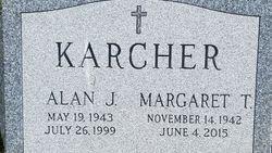 """Margaret """"Peggy"""" <I>Taylor</I> Karcher"""