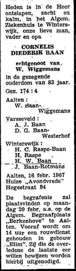 Cornelis Diederik Baan