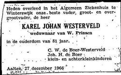 Karel Johan Westerveld