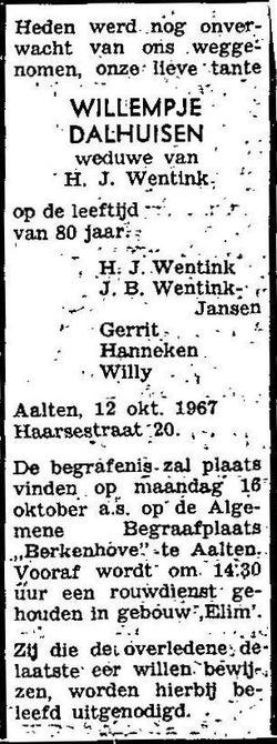 Willempje Dalhuisen