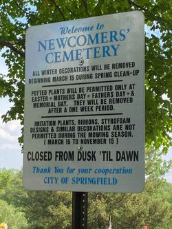Newcomers Cemetery