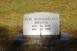 Ruby E. <I>Westmoreland</I> Breland