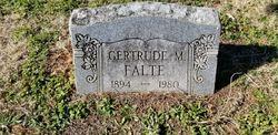 Gertrude Mildred <I>Peacock</I> Falte