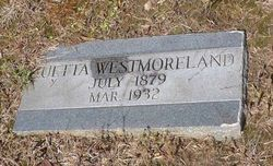 "Luetta ""Etta"" <I>Strahan</I> Westmoreland"