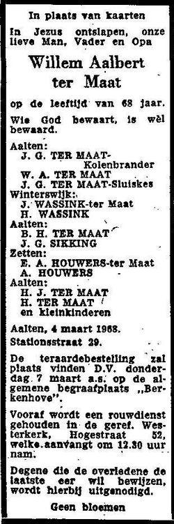 Willem Aalbert ter Maat