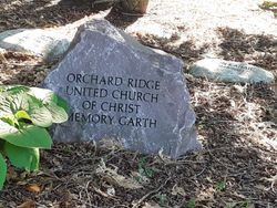 Orchard Ridge United Church Of Christ Memory Garth