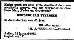 Hendrik Jan Veerbeek