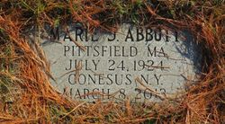 Marie Jeanne <I>Roberts</I> Abbott