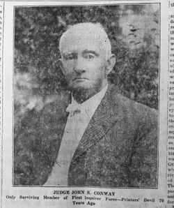 Judge John Somerset Conway