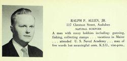 CDR Ralph P Allen Jr.