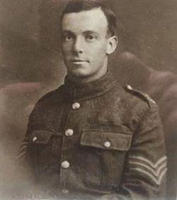 Company Serjeant Major John Glover