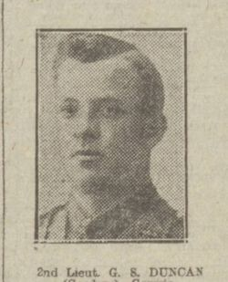 Lt George Stewart Duncan