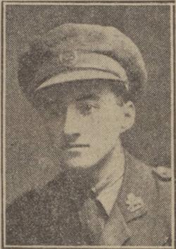 2nd Lt James Ekin